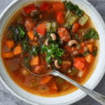 Spicy bønnesuppe med chorizo
