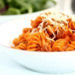 Forførende hot pasta med chorizo
