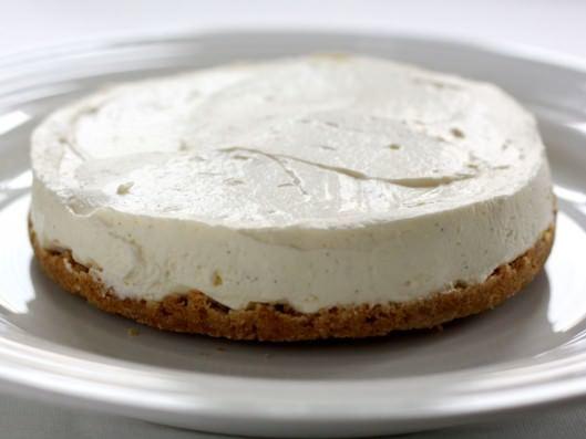 Cheesecake med blåbærsirup | Ostekage