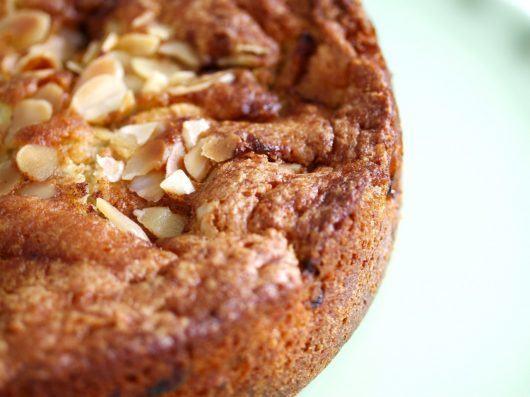 æblekage med mandler