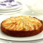 Pæretærte med marcipan