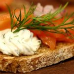 Laks med urter og flødeost | Kanapéer