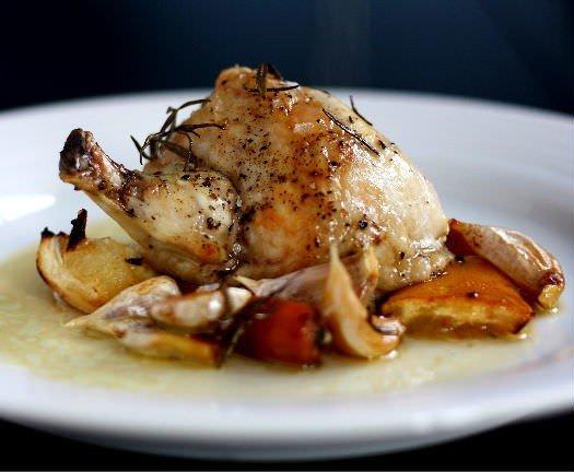 Kylling med 40 fed hvidløg