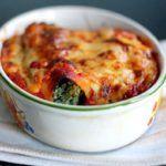 Canneloni med ricotta og spinat