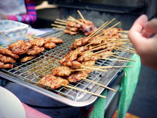 Bangkoks gadekøkken