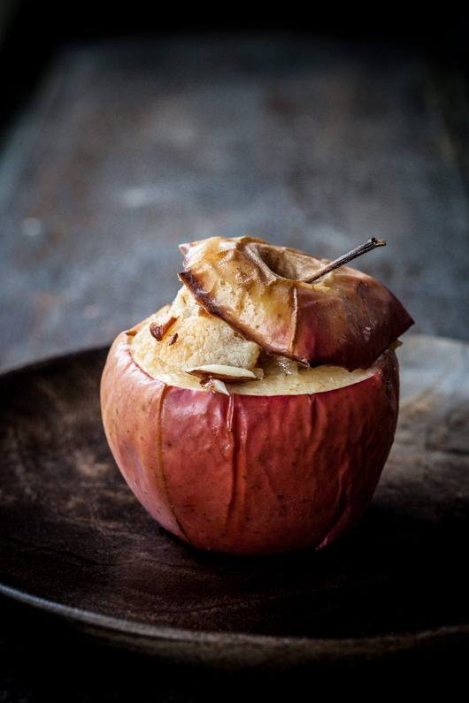 Bagte æbler