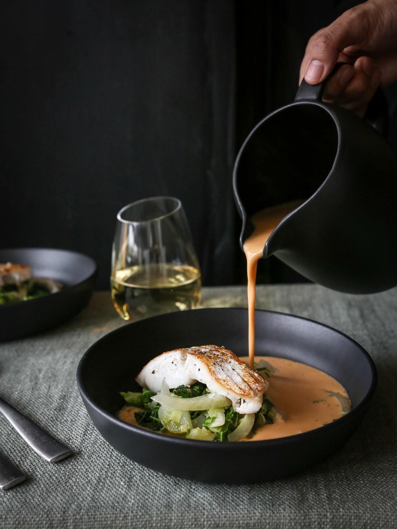 fransk fiskesuppe
