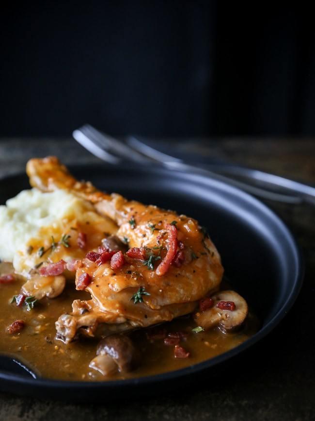 gryderet med kylling