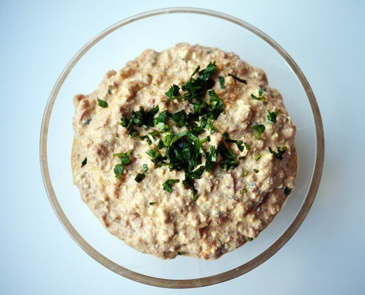 Haydari (fetadip med peberfrugt)