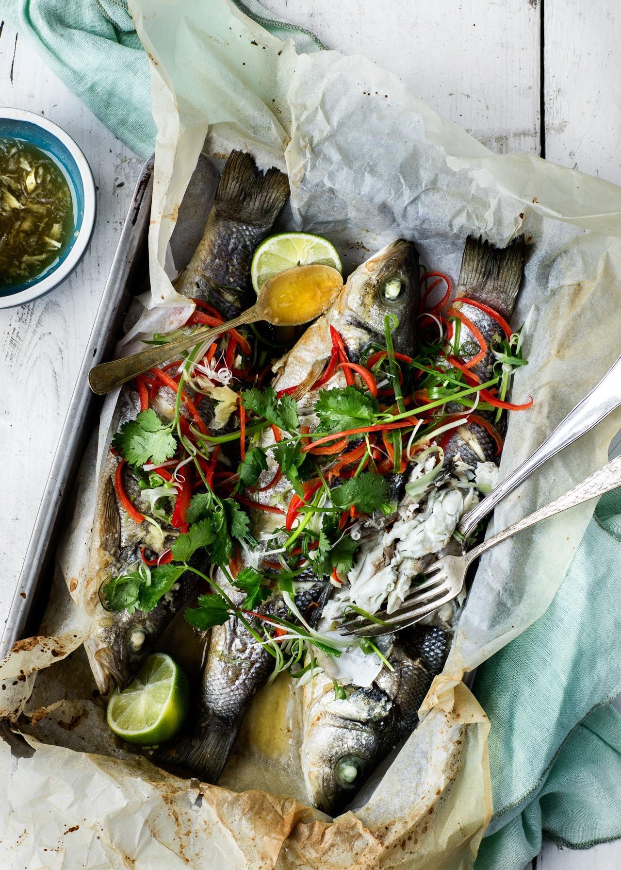helstegt fisk