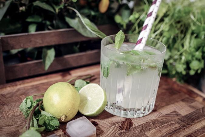 Boblende lemonade