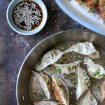 Gyoza - japanske dumplinger med svinekød og forårsløg